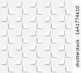 white background 3d paper style ... | Shutterstock .eps vector #1641774610