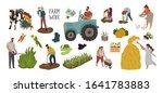 vector set of different... | Shutterstock .eps vector #1641783883