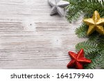 christmas backgrounds.... | Shutterstock . vector #164179940