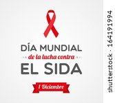 world aids day | Shutterstock .eps vector #164191994
