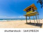 Lifeguard Hut On The Beach ...
