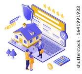 online sale  purchase  rent ...   Shutterstock .eps vector #1641991933