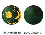 Nebra Sky Disk Illustration On...