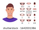 lip sync collection for...   Shutterstock .eps vector #1642031386