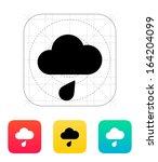 rain weather icon. vector...
