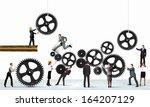 conceptual image of... | Shutterstock . vector #164207129