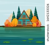 Autumn Landscape With A  A...