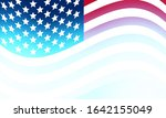 abstract blurred usa flag... | Shutterstock .eps vector #1642155049