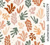 matisse inspired shapes...   Shutterstock .eps vector #1642252279