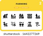farming glyph icons pack for ui....