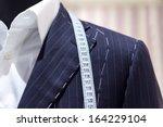 suits on shop mannequins   Shutterstock . vector #164229104