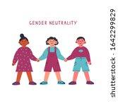 gender neutral child clothing...   Shutterstock .eps vector #1642299829