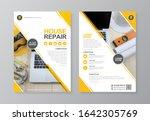 corporate construction tools... | Shutterstock .eps vector #1642305769