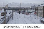 barnaul   january 21 train... | Shutterstock . vector #1642325260
