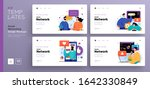 website template designs. web... | Shutterstock .eps vector #1642330849