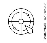 target  arrow  seo icon. simple ...