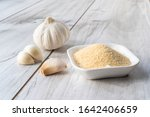 bowl with granulated dried... | Shutterstock . vector #1642406659