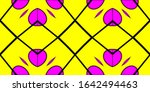 decorative background with...   Shutterstock . vector #1642494463