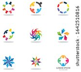 community logo teamwork logo... | Shutterstock .eps vector #1642510816