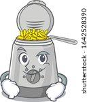 cool deep fryer mascot... | Shutterstock .eps vector #1642528390