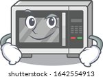 cool microwave mascot character ... | Shutterstock .eps vector #1642554913