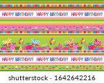 celebration green background... | Shutterstock .eps vector #1642642216