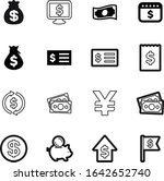 dollar vector icon set such as  ...
