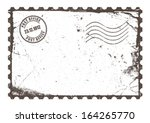 vintage post card | Shutterstock .eps vector #164265770