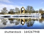 Bolton Priory In Winter  Bolto...