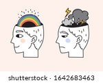 illustration about mental state ... | Shutterstock .eps vector #1642683463