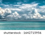Calm Ocean Of Turquoise Color...