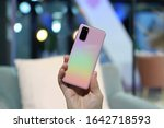 Small photo of Munich, Germany – February 4, 2020: Samsung announced a new flagships Galaxy S20