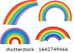 set of different shapes of... | Shutterstock .eps vector #1642749466