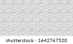 white arabic pattern  islamic... | Shutterstock . vector #1642767520