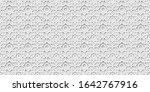 white islamic background ... | Shutterstock . vector #1642767916