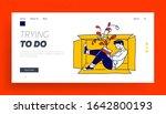 social anxiety website landing... | Shutterstock .eps vector #1642800193