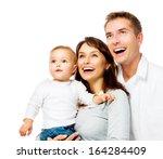 Happy Smiling Family Portrait...
