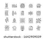 sri lanka travel  icons set.... | Shutterstock .eps vector #1642909039