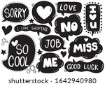 hand drawn background set of...   Shutterstock .eps vector #1642940980