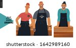 owners  small business owners...   Shutterstock .eps vector #1642989160