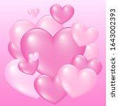 gradient colored heart...   Shutterstock .eps vector #1643002393