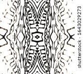 oriental. chocolate shaman...   Shutterstock . vector #1643029273