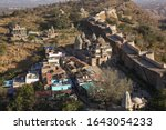 Aerial View Of Kumbhalgarh Fort ...