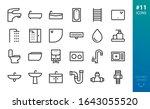 sanitary ware and plumbing... | Shutterstock .eps vector #1643055520