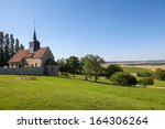 Church Of A Small Village In...