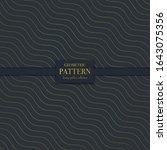 luxury golden geometric pattern....   Shutterstock .eps vector #1643075356