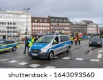 kiel  germany  12 feb 2020 ... | Shutterstock . vector #1643093560