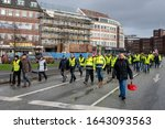 kiel  germany  12 feb 2020 ... | Shutterstock . vector #1643093563
