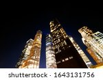 Low Angle View Of Buildings At...