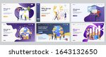 global management set. managers ... | Shutterstock .eps vector #1643132650